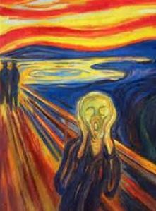 The scream detail