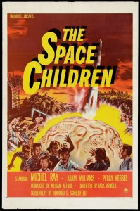 Space Children One Sheet